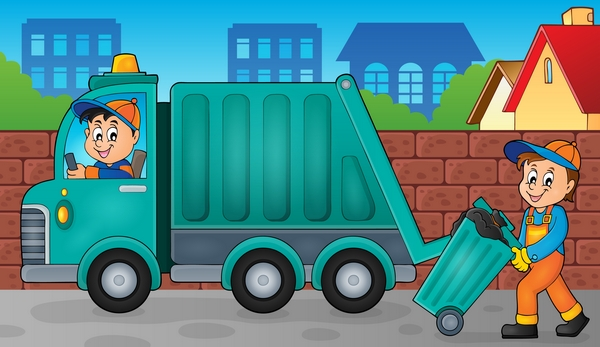 Scaffies Doric Scottish Word for Road Refuse Rubbish Collectors and Sweepers